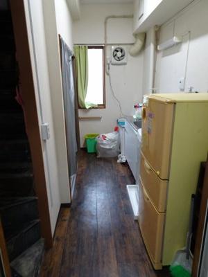 鮨若ビル K3帖 洗濯機や冷蔵庫をそのまま使って頂いて大丈夫です。