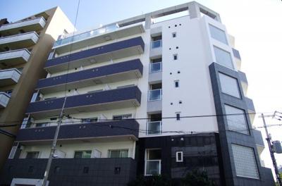 OM玉造Ⅱは平成17年築の賃貸マンションなので外観もまだまだ奇麗です。