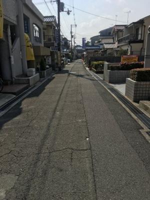 【前面道路含む現地写真】日之出町土地