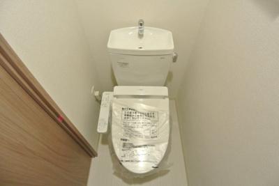 【トイレ】プレサンス松屋町グレース