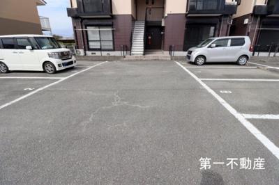 【駐車場】メロディーハイツB