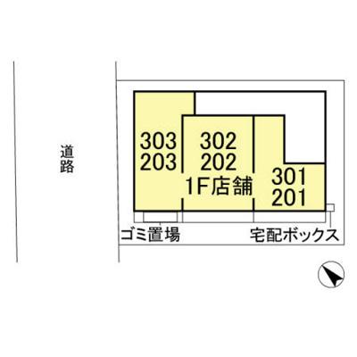 【区画図】ノールメゾンおおたかJ