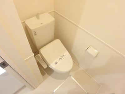 【トイレ】ペット共生型賃貸マンション・Fluffy