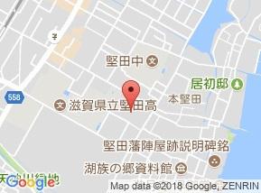 【地図】本堅田3倉庫 Ⅱ