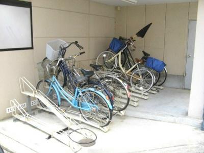 室内自転車置場