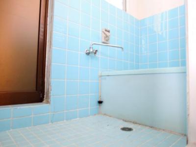 【浴室】中谷借家2戸一B号