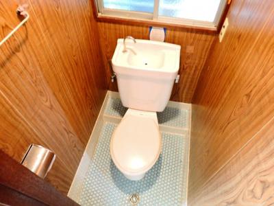 【トイレ】中谷借家2戸一B号