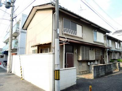 【外観】中谷借家2戸一B号