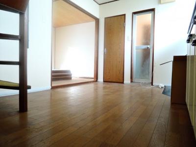 【居間・リビング】中谷借家2戸一B号