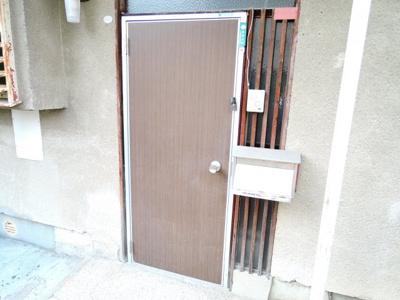 【玄関】中谷借家2戸一B号