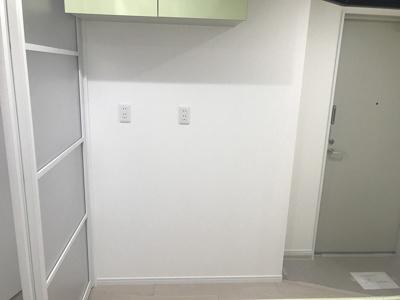 冷蔵庫置場です。十分なスペースがあります。