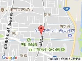 【地図】ホワイトコーポヤマグチ