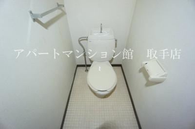 【トイレ】トネリバーハイツ