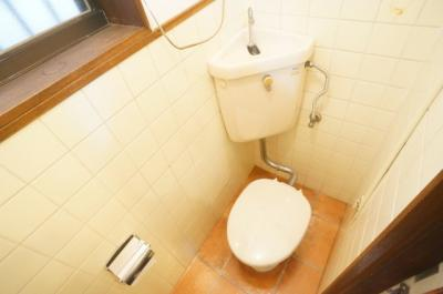 【トイレ】喜連1丁目 貸家