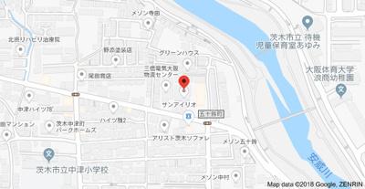 【地図】サンアイリオ