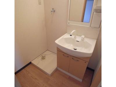シャンプードレッサー、洗濯機置き場