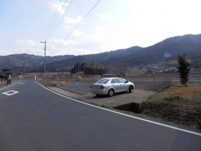 【前面道路含む現地写真】徳尾売地
