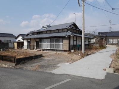 【外観】津山市二宮 売土地150坪