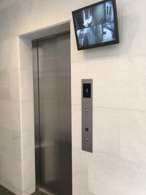 ベルメゾン若林のエレベーター