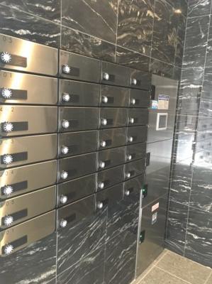 ベルメゾン若林のメールボックス