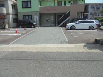 【駐車場】サクラハウス