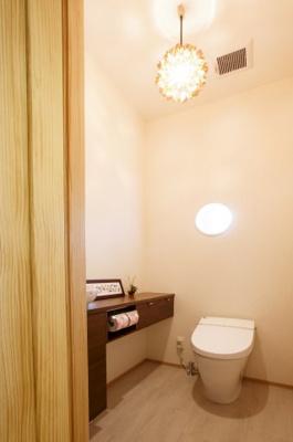 【トイレ】堺市南区庭代台1丁新築一戸建B号地(庭代台小学校)