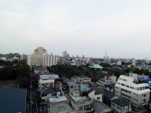 【レジディア文京本駒込】視界良好!スカイツリーが望めます