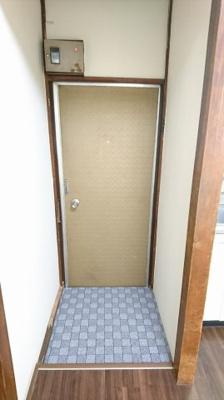【玄関】めぐみ荘