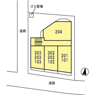 【区画図】エスポワール多摩川
