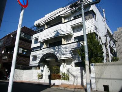 建物外観写真です!駅から5分ほどです!分譲賃貸マンションの1室です!