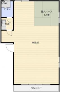 川崎 貸事務所16坪