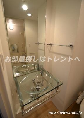 【洗面所】モデュロール渋谷本町