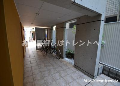 【エントランス】モデュロール渋谷本町