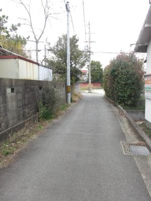 【前面道路含む現地写真】加古川市西神吉町大国