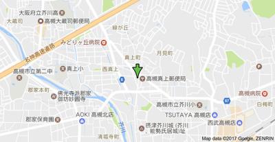 【地図】コスモハイツ (株)Roots