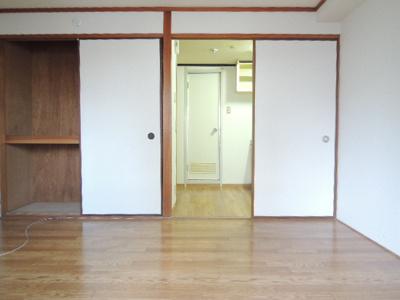 【寝室】グランメール平野