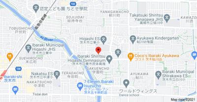 【地図】アンフィニィ・橋の内Ⅲ