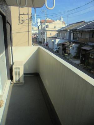 【バルコニー】コスモコーポ北田辺