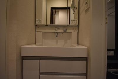 人気の条件 独立洗面台です