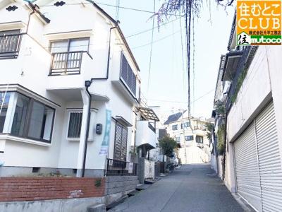 【前面道路含む現地写真】神戸市垂水区西舞子8丁目  中古戸建