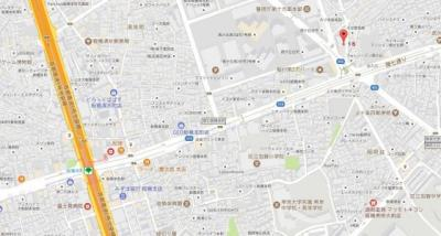 【地図】AZEST ID 板橋本町