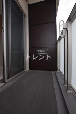 【バルコニー】ザパークハビオ早稲田