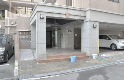 【エントランス】シャルマンフジあべの松崎町