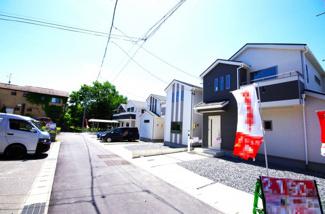 3号棟 前面道路含む現地(2018年05月)撮影