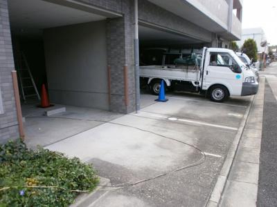 【駐車場】クレール上中条