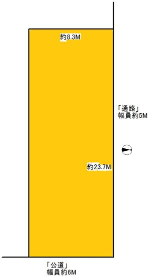【土地図】粟生町4号地