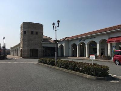 JR・神鉄「粟生町」