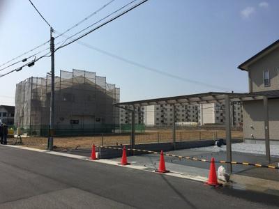 【前面道路含む現地写真】粟生町8号地