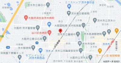 【地図】ハイツティアラ