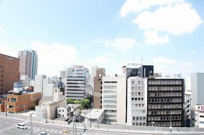ニューライフ御堂筋本町 眺望良好です。